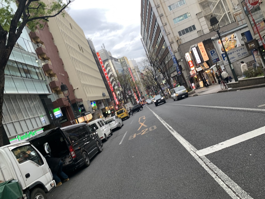 人がいない渋谷道玄坂